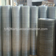welded wire mesh coils