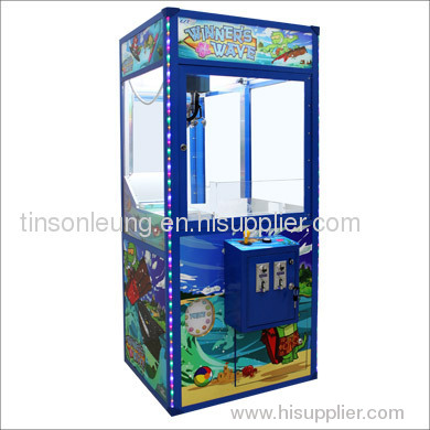 Winner's wave prize machine