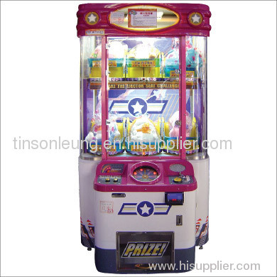 Ejector Seat prize game machine