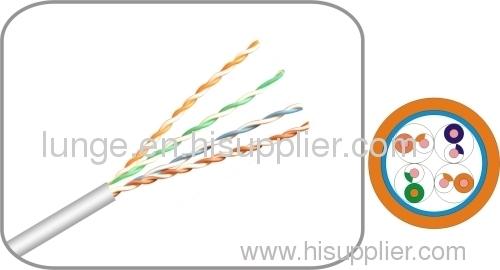 FTP CAT5E cable 568B 24AWG RJ45