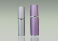 Aluminum bottle pump bottle cosmetic package