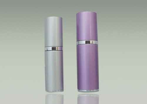 Aluminum bottle makeup package foundation bottle cosmetic container pump bottle hot seal 15ml 30ml 50ml