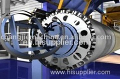 GRP Continuous Winding Pipe Extruder Machine