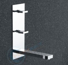 Designer Wall Mounted Square Basin Mixer