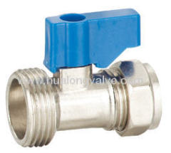 Straight Washing Machine Valve