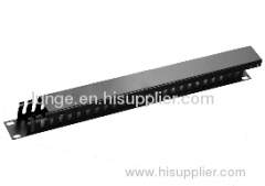 "19"" horizontal cable manager"