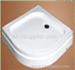 Quadrant acrylic shower tray