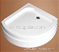 Quadrant corner shower tray