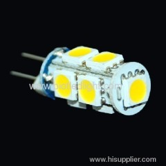 1.6W G4 9SMD led bulb with 360 degree