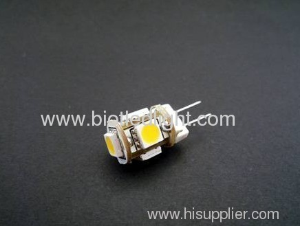 1W G4 5SMD led bulb with 360 degree