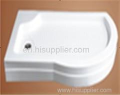 Quadrant irregular shower tray