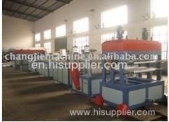 XPS foamed heat preservation board production line