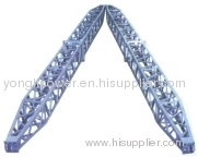 60~275KN aluminum alloy A-shape lattice gin pole