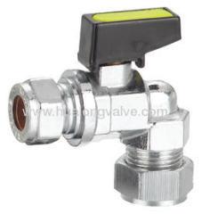 Mini angle gas ball valve