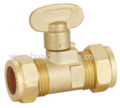 Brass Gas ball valve