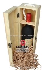 Wooden Wine Box or Case