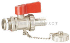 Brass Heating ball valve