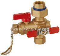 Brass fire valve