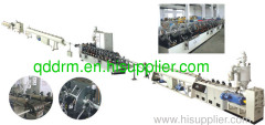 PPR pipe production line/pipe extrusion machine