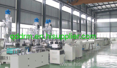 composite pipe production line/pipe extrusion uinit