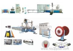 PE-AL-PE composite pipe production line