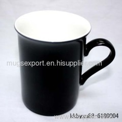 bone china magic mug (bright black