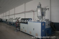 HDPE single wall winding pipe production line