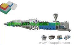 PVC foam board extrusion line/PVC board extrusion line