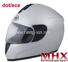 Motorcycle helmet with DOT and ECE approval