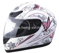 Motorcycle helmets with DOT and ECE approval
