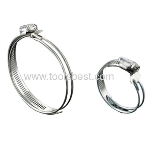 half wire hose clamps from China manufacturer - D.Q Metal Products ...