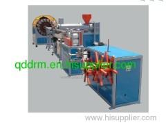 PVC Braided Fibre Reinforced Hose production Line