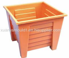 square plastic flowerpot mould