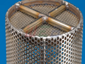 Multi Mesh Cylinder Screen