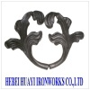 ornamental wrought iron fitting