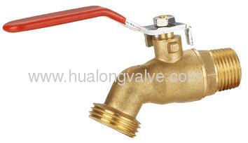Brass Bibcockin With Lever Handle