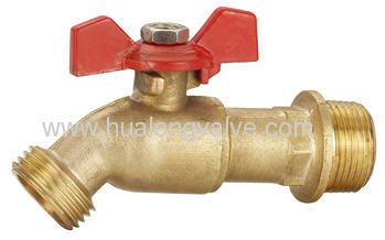 brass male water bibcock