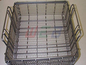 Wire Mesh Shopping Basket