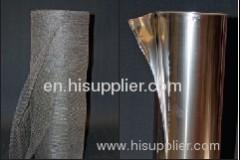 stainless steel blanket mesh stainless steel gas filter mesh