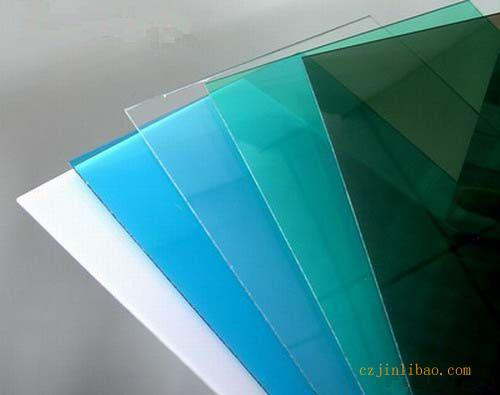 clear and color polycarbonate sheet board for construction decoration building materials pc sheet board