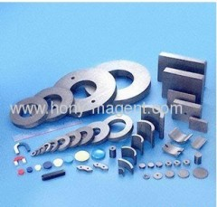 sintered ceramic ring magnet