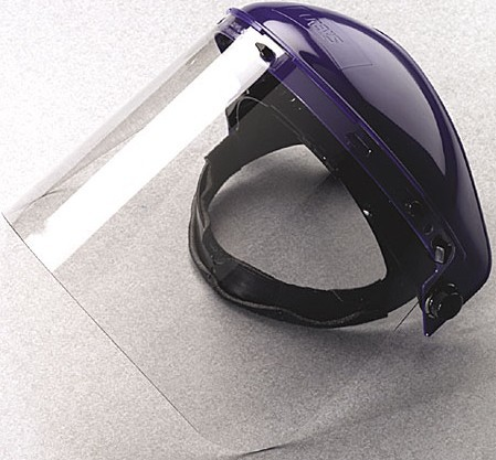 clear petg face visor face petg shield helmet pc visor polycarbonate face visor shield certificated ANSI Z87.1
