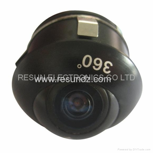 Lens adjustable Eye-style car camera for Reversing, Side view, Front view