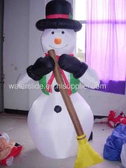 Snow man inflatable Christmas