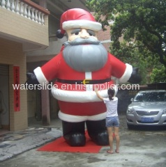 inflatable Christmas man