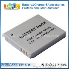 NB-4L Camera Battery for CANON PowerShot SD400 SD430 SD630