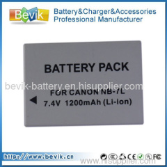 Camera battery NB-7L for Canon