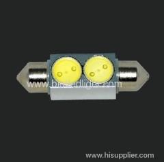2W led festoon car bulbs