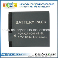 NB-8L NB8L Battery for Canon PowerShot A3200 A3300 IS