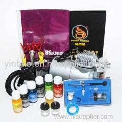 Professional airbrush tattoo kit